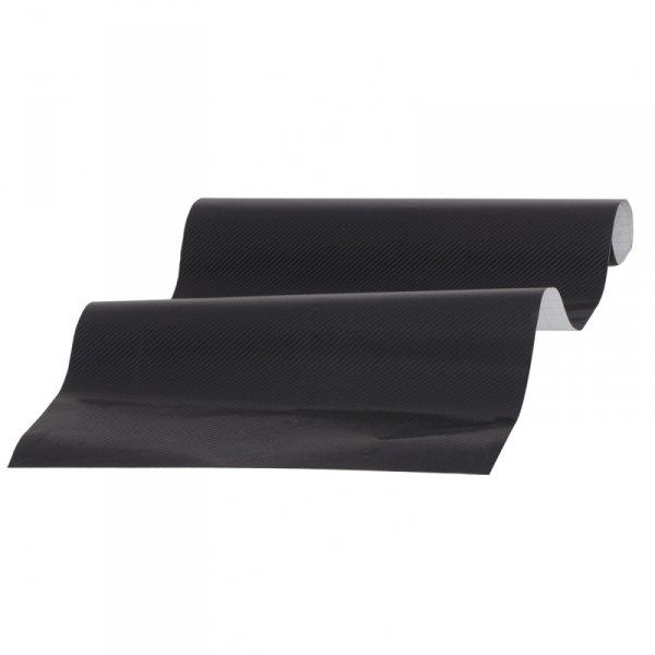Folia odcinek carbon 3D czarna 1,27x0,1m