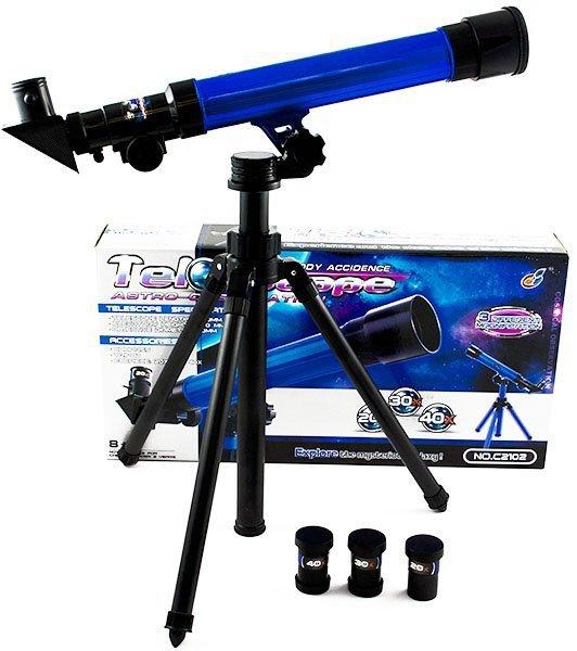 Teleskop edukacyjny ze statywem  20x 30x 40x