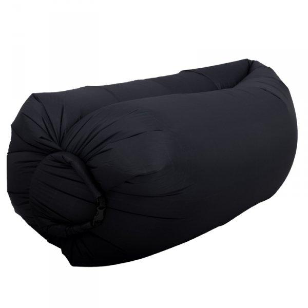 Lazy Bag SOFA materac LEŻAK na POWIETRZE czarny