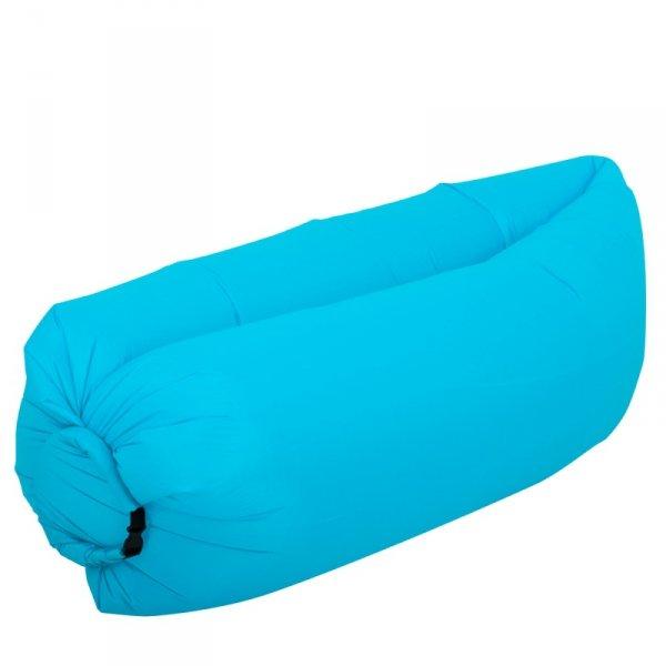 Lazy Bag SOFA materac LEŻAK na POWIETRZE błękitny