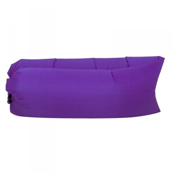 Lazy Bag SOFA materac LEŻAK na POWIETRZE fioletowy