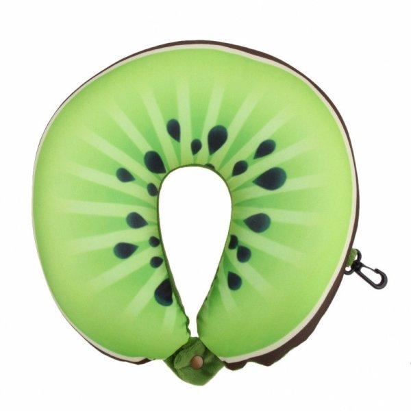 Poduszka podróżna owoce kiwi