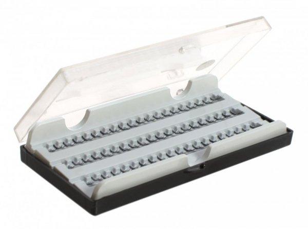 Zestaw sztucznych rzęs kępki 60szt 8mm