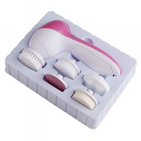Szczotka elektryczna do masażu, mycia twarzy 5 w 1