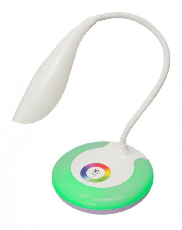 Lampka biurkowa nocna LED RGB USB