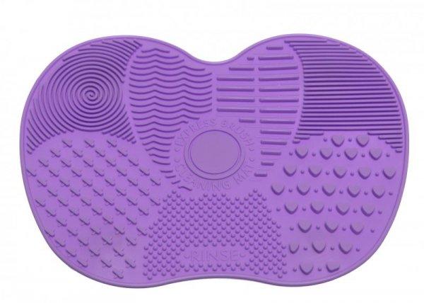 Mata silikonowa do mycia pędzli kosmetycznych