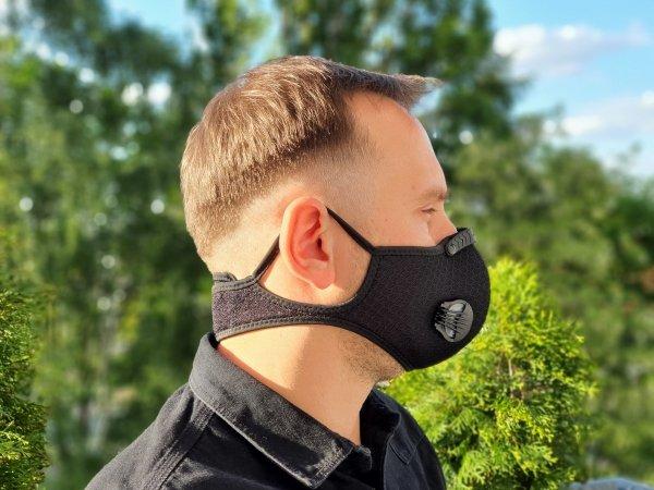 maska do biegania - ergonomiczny kształt