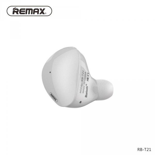 biale sluchawki bezprzewodowe remax