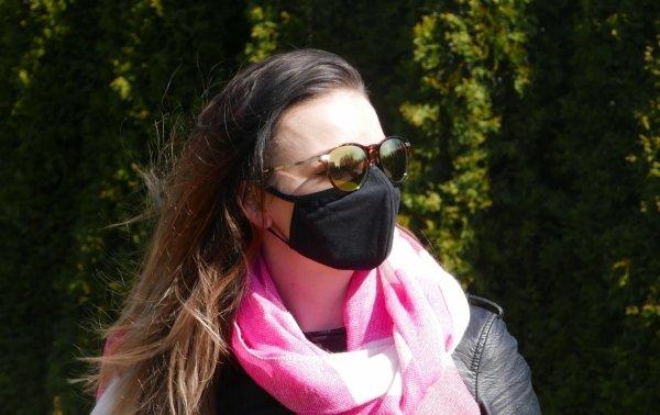 maska z filtrem wymiennym n99