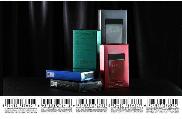 Powerbank jak perfumy czarne 8000 mAh BERYL