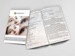 Kundenfragebogen für Wimpernlifting und Wimpernlaminierung (10 Stk.)