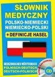 Słownik medyczny polsko-niemiecki niemiecko-polski + definicje haseł + CD