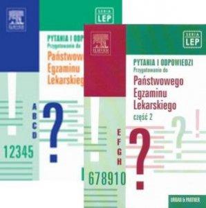 Pytania i odpowiedzi Przygotowanie do Państwowego Egzaminu Lekarskiego (LEP) Część 1 + Część 2