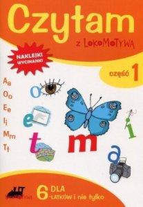 Czytam z Lokomotywą Część 1 dla 6 latków i nie tylko