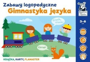 Gimnastyka języka Zabawy logopedyczne Kapitan Nauka