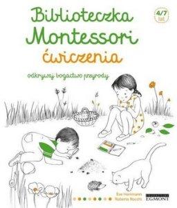 Biblioteczka Montessori Ćwiczenia Odkrywaj bogactwo przyrody