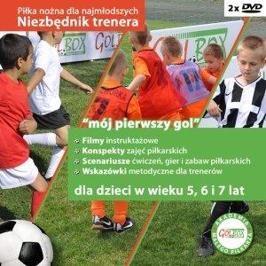 Niezbędnik trenera Część 1 Piłka nożna dla najmłodszych 2xDVD