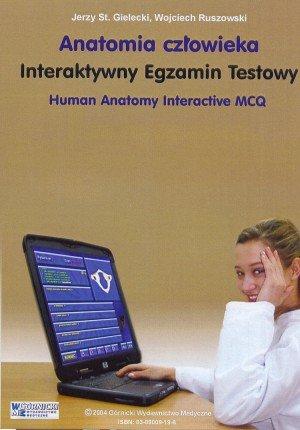Interaktywny egzamin testowy z anatomii Płyta CD