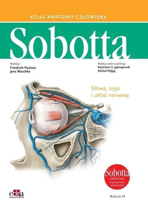 Atlas anatomii człowieka Sobotta angielskie mianownictwo Tom 3