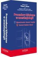 Procedury kliniczne w anestezjologii
