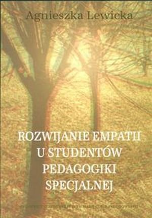 Rozwijanie empatii u studentów pedagogiki specjalnej