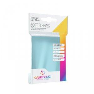 Gamegenic: Soft CCG Sleeves (67x94 mm), 100 sztuk