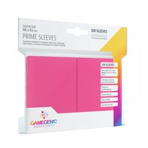 Gamegenic: Prime CCG Sleeves (66x91 mm) - Pink, 100 sztuk