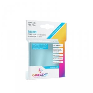 Gamegenic: Prime Square-Sized Sleeves (73x73 mm), 50 sztuk