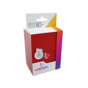 Gamegenic: Deck Holder 80+ - Red