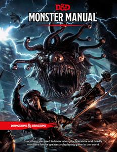 Dungeons & Dragons: Monster Manual (edycja angielska)