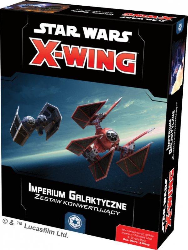 Star Wars: X-Wing - Zestaw konwertujący - Imperium Galaktyczne
