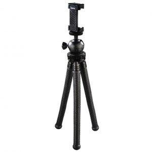 Statyw Hama mini Flexpro 3w1, 27 cm, czarny