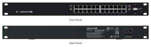 Switch zarządzalny UBIQUITI EdgeSwitch 24x100/1000 2xSFP PoE+ 250W