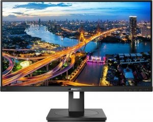 "OUTLET: Monitor Philips 23,8"" 242B1V/00 VGA DVI-D HDMI DP USB-B 4xUSB 3.1 głośniki - USZ OPAK"