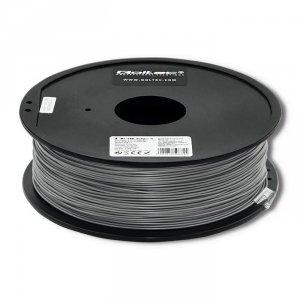 Filament Qoltec do druku 3D | PLA PRO | 1,75mm | 1kg | Silver