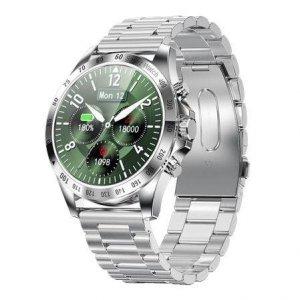 Smartwatch Garett Men Style srebrny, stalowy