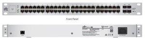 Switch zarządzalny UBIQUITI UniFiSwitch 48x100/1000 2xSFP 2xSFP+ PoE+