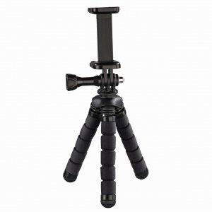 Statyw Hama mini Flex 2w1 14 cm, czarny