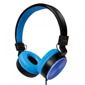 Słuchawki stereo LogiLink HS0049BL składane, niebieskie