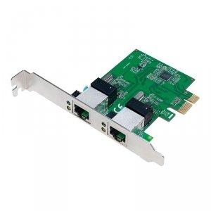 Kontroler PCI-Express LogiLink PC0075 2 porty Gigabit LAN