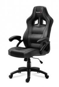 Fotel gamingowy Huzaro Force 4.2 czarno-szary