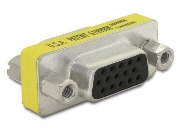 Adapter Delock VGA(15M)->VGA(15F)