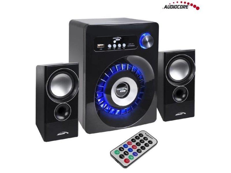 Zestaw głośników Bluetooth 2.1 Audiocore AC910 radio FM, wejście kart TF, AUX, zasilanie USB