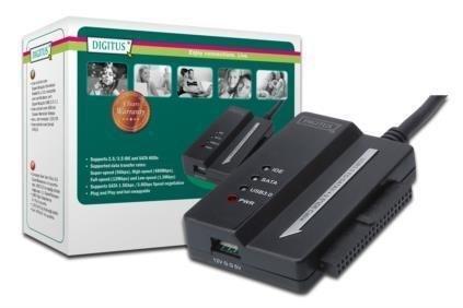 "Konwerter DIGITUS DA-70325 USB 3.0 do HDD 2,5""/3,5"" IDE, SATAII"