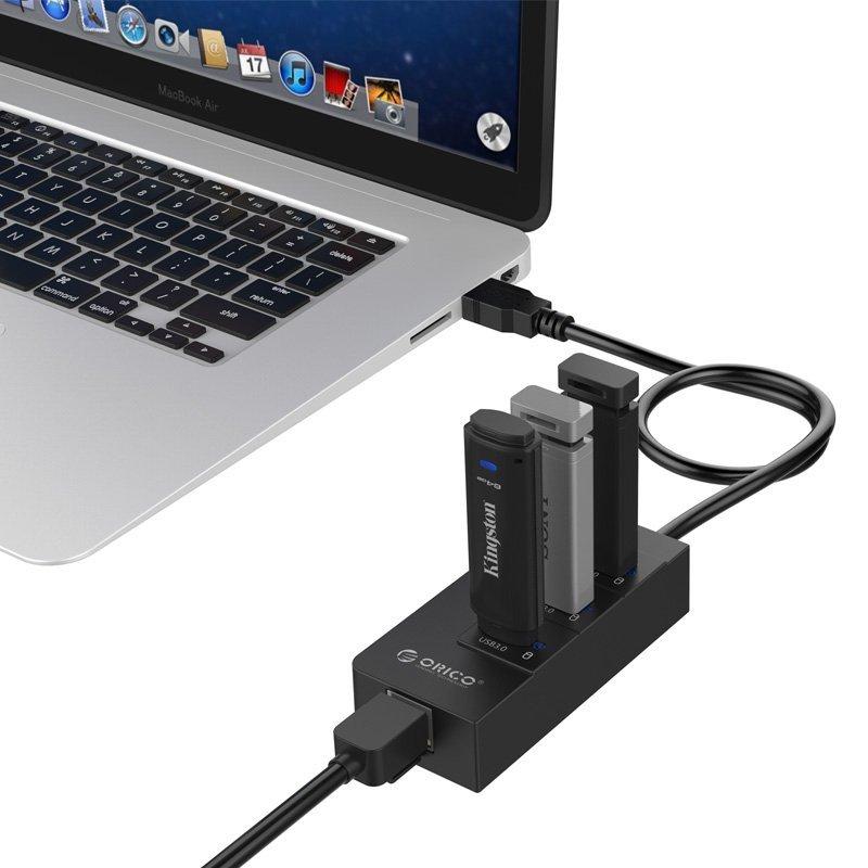 ORICO hub USB 3.0 + GIGABIT LAN