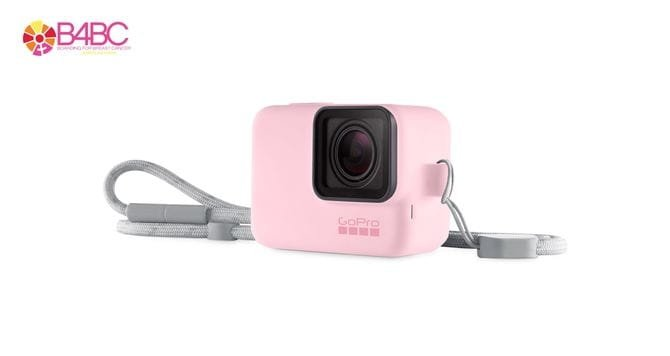 GoPro Sleeve + Lanyard - silikonowa obudowa różowa GoPro Hero 5, 6, 7