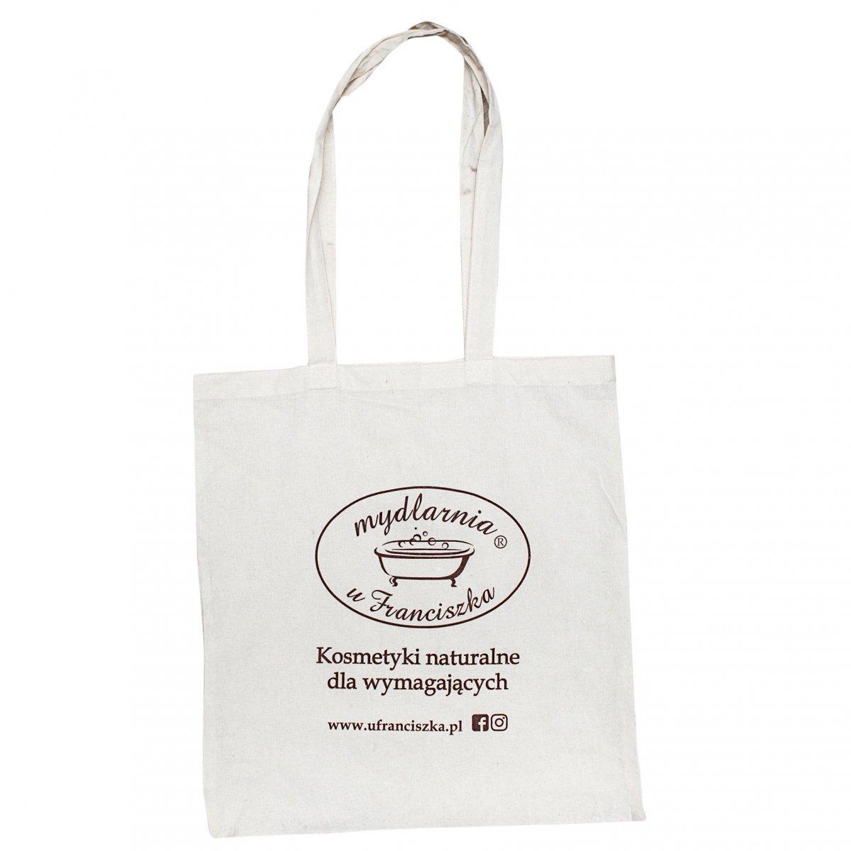 6184bd09f8839 Bawełniana torba na zakupy z logo - Akcesoria - Cera