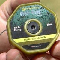 RidgeMonkey- Leed Free Leader Organic Brown - Leadcore bez rdzenia