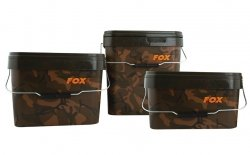 Wiadro 10l FOX Camo Square Buckets