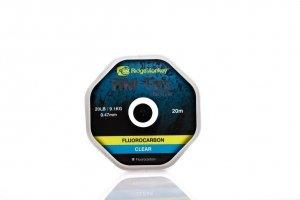 RidgeMonkey- RM-Tec Flourocarbon Hooklink 15lb Clear - Fluorocarbon 15lb